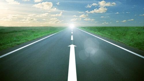未来へ続く道